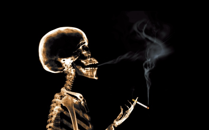 the-skeleton-x-rays-smoke-cigarette